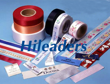Polyester printed satin ribbon