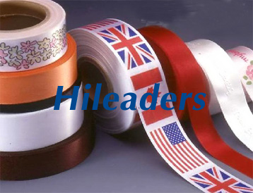 Polyester Satin Label Tape Roll for Printing