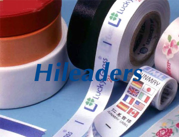 Slit edge Satin ribbon