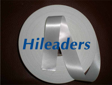 Polyester slit edge Single face satin ribbon