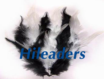 Decorative Natural  white Pheasant feather pad