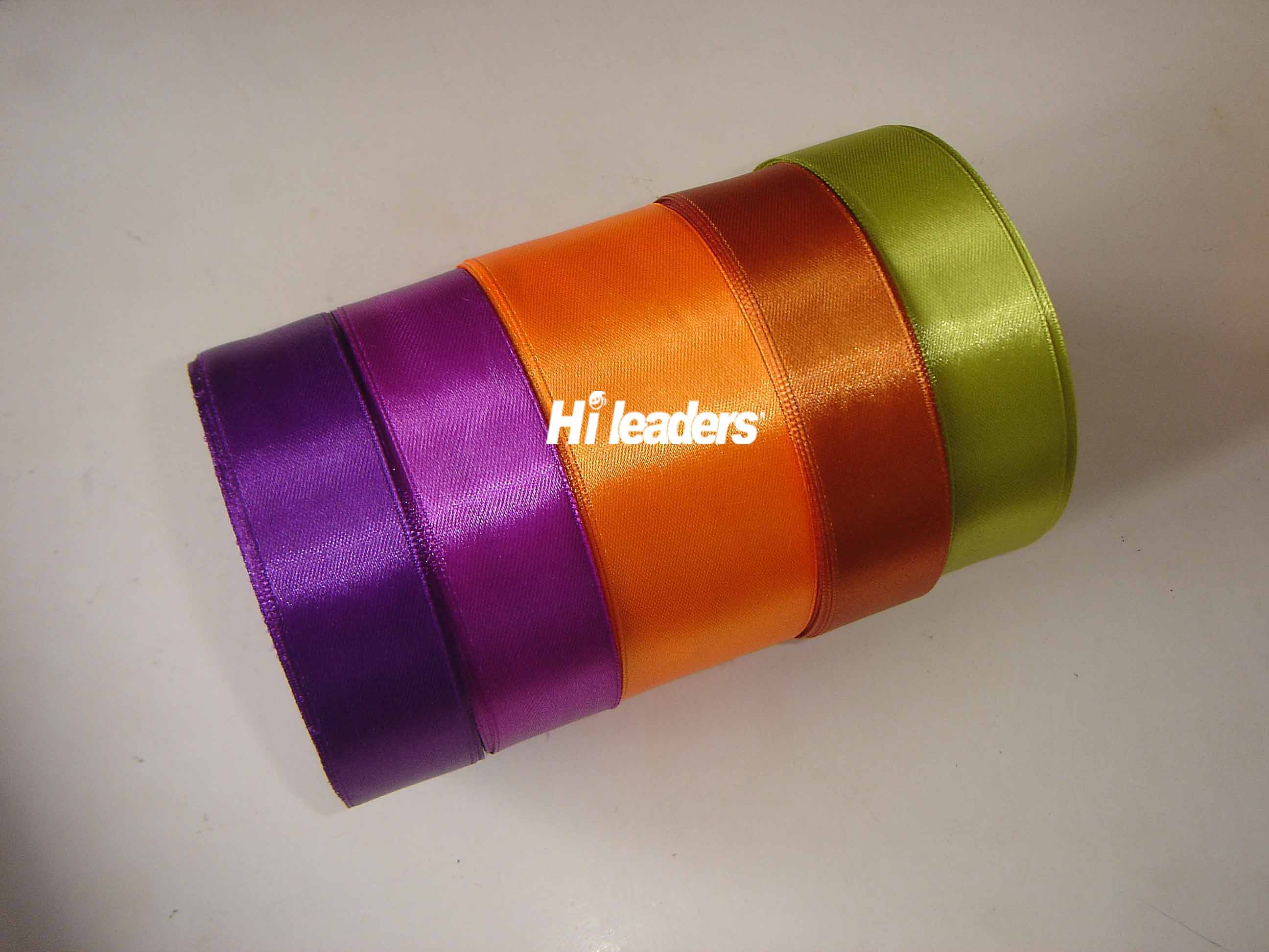 Polyster satin ribbon
