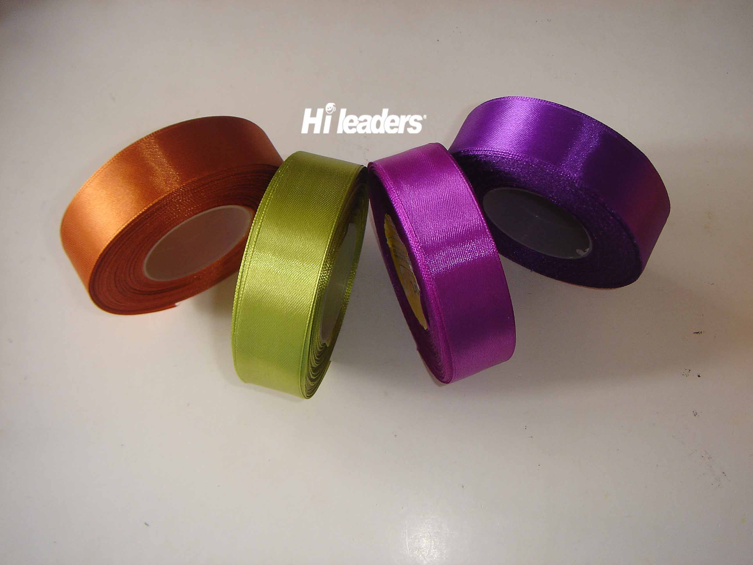 Double face  Polyster satin ribbon