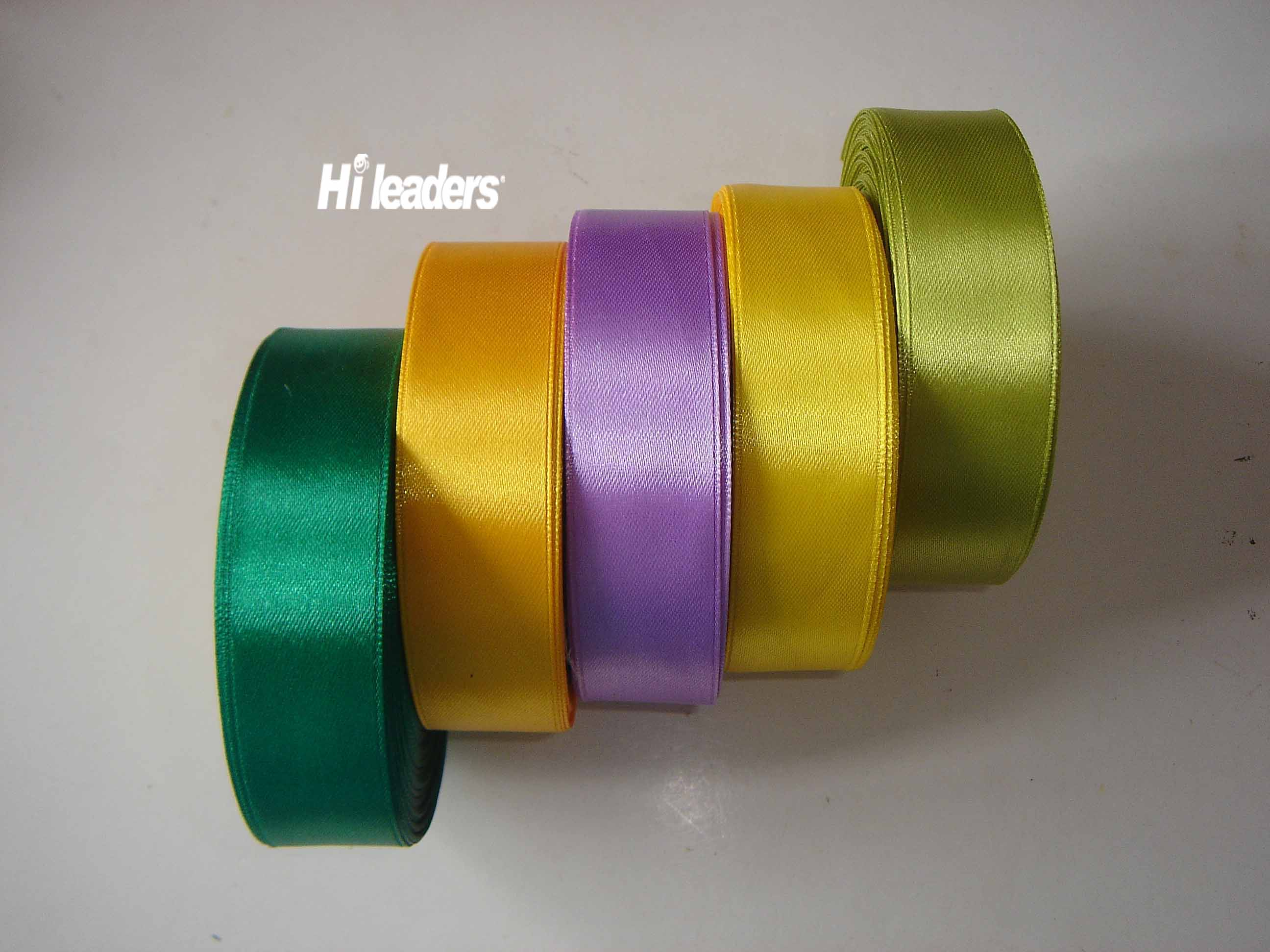 Double face polyester  satin ribbon