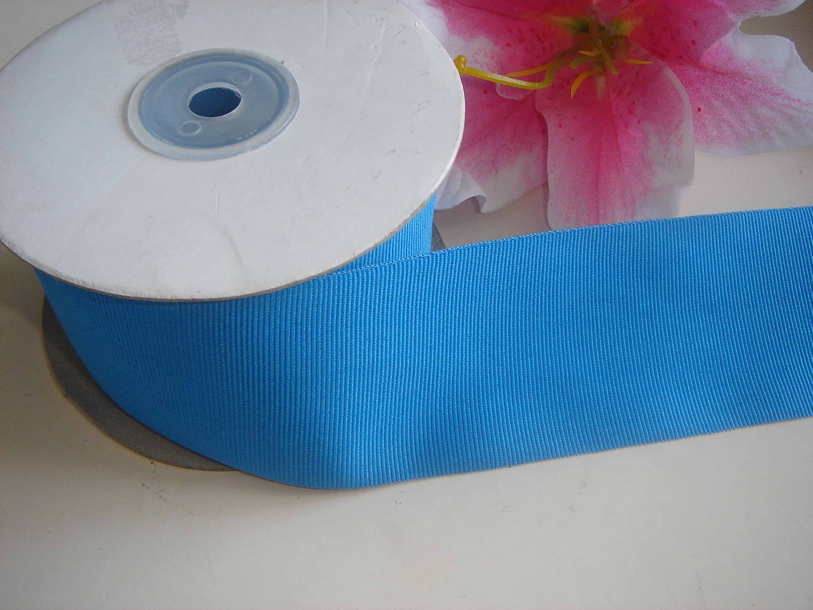 Yarn dyed grosgrain ribbon