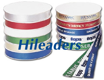 Kit packaging and printing satin ribbon
