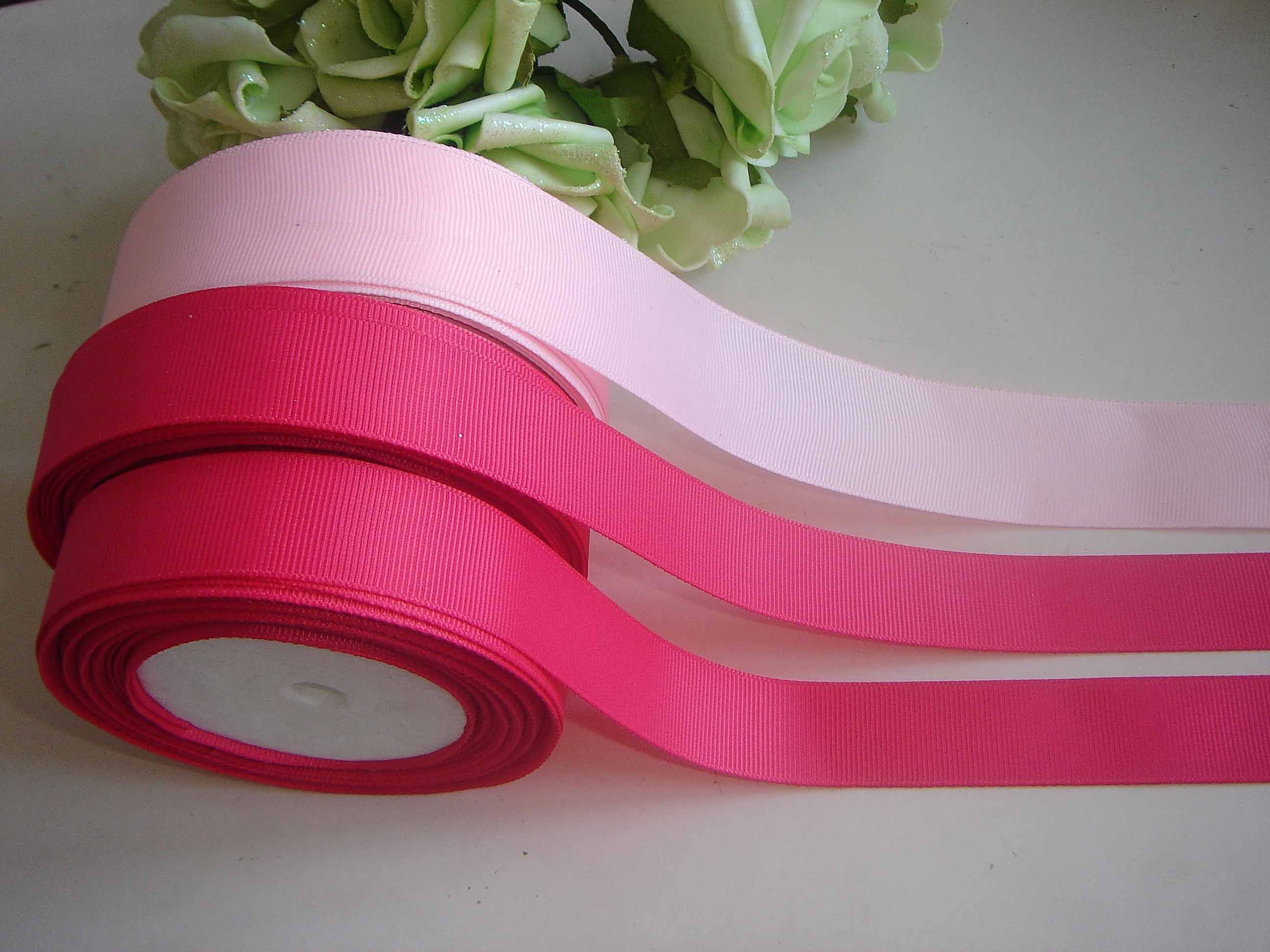 Decorative Valentine grosgrain ribbon