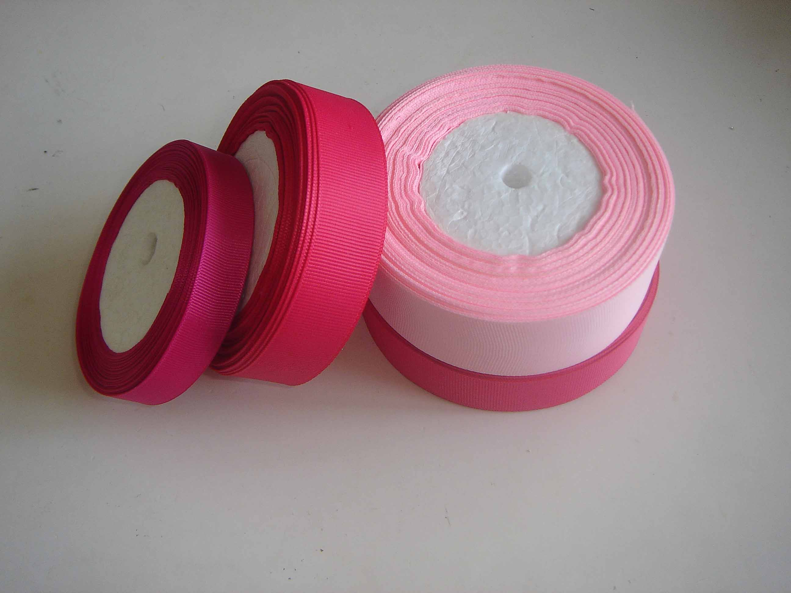 Polyester grosgrain ribbon