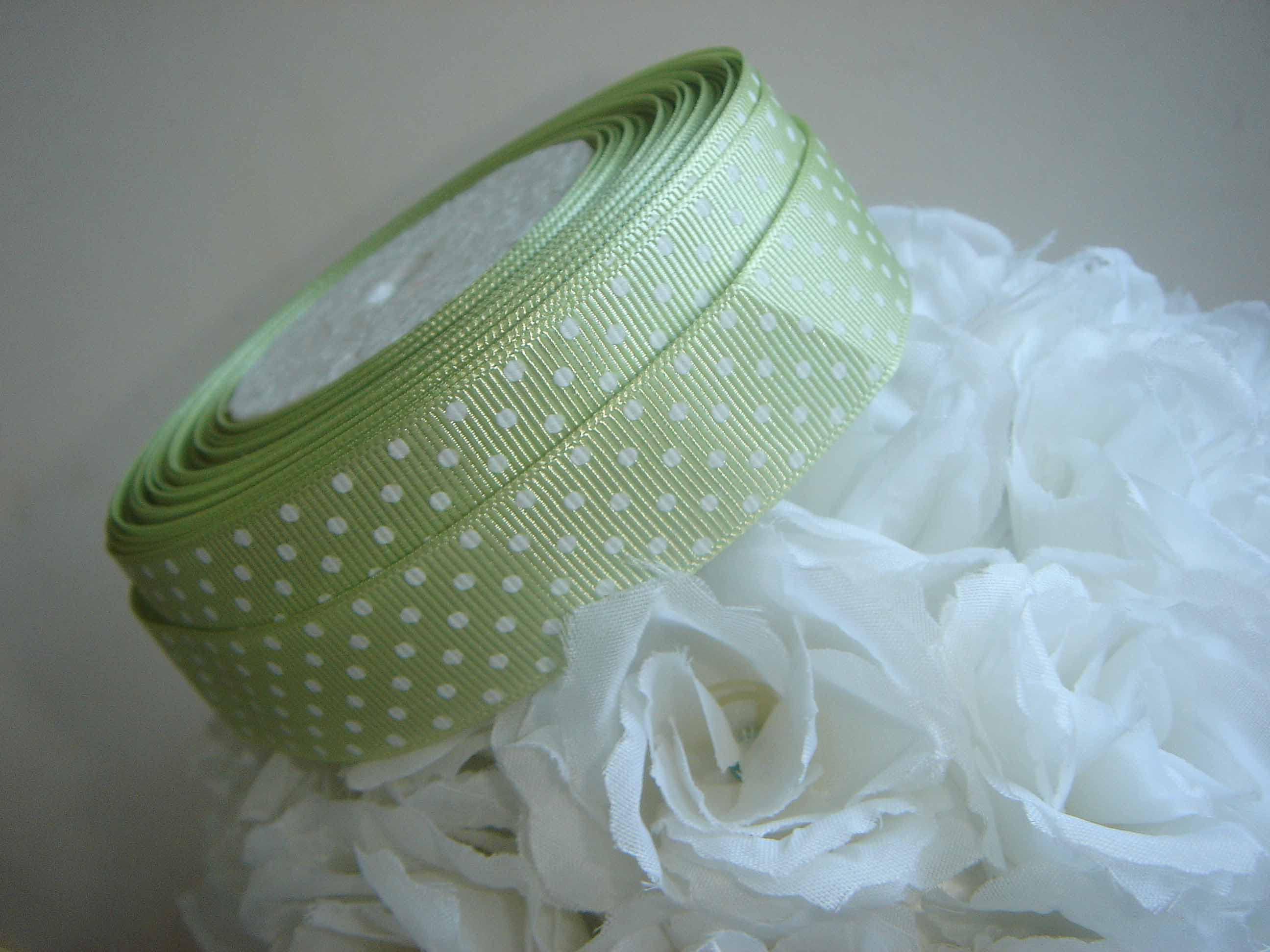 Printed Poyester grosgrain ribbon