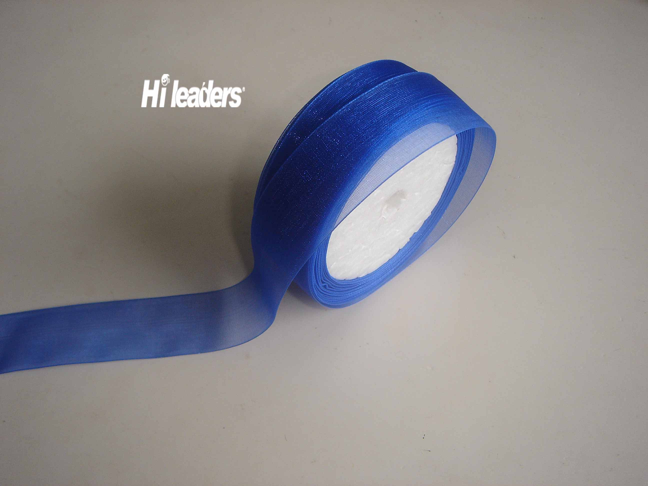 Foam core packing  Organza ribbon