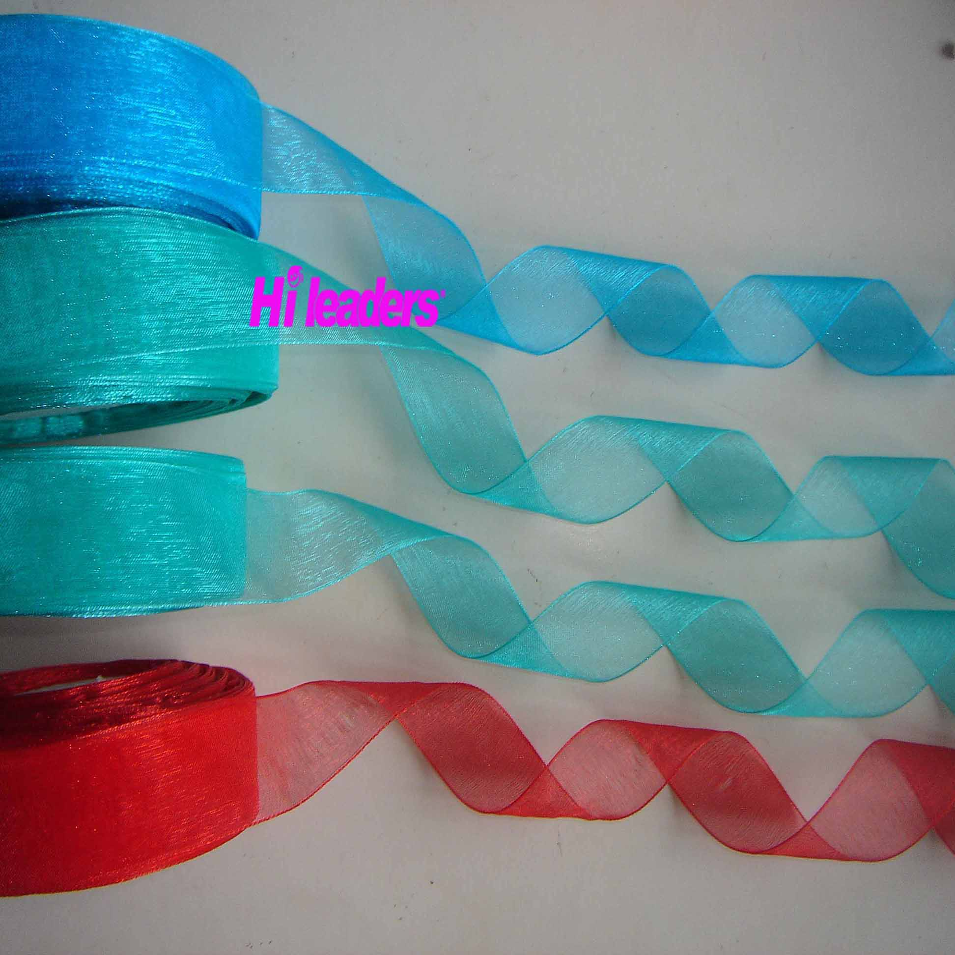 Garment Accessories Nylon Sheer Ribbon