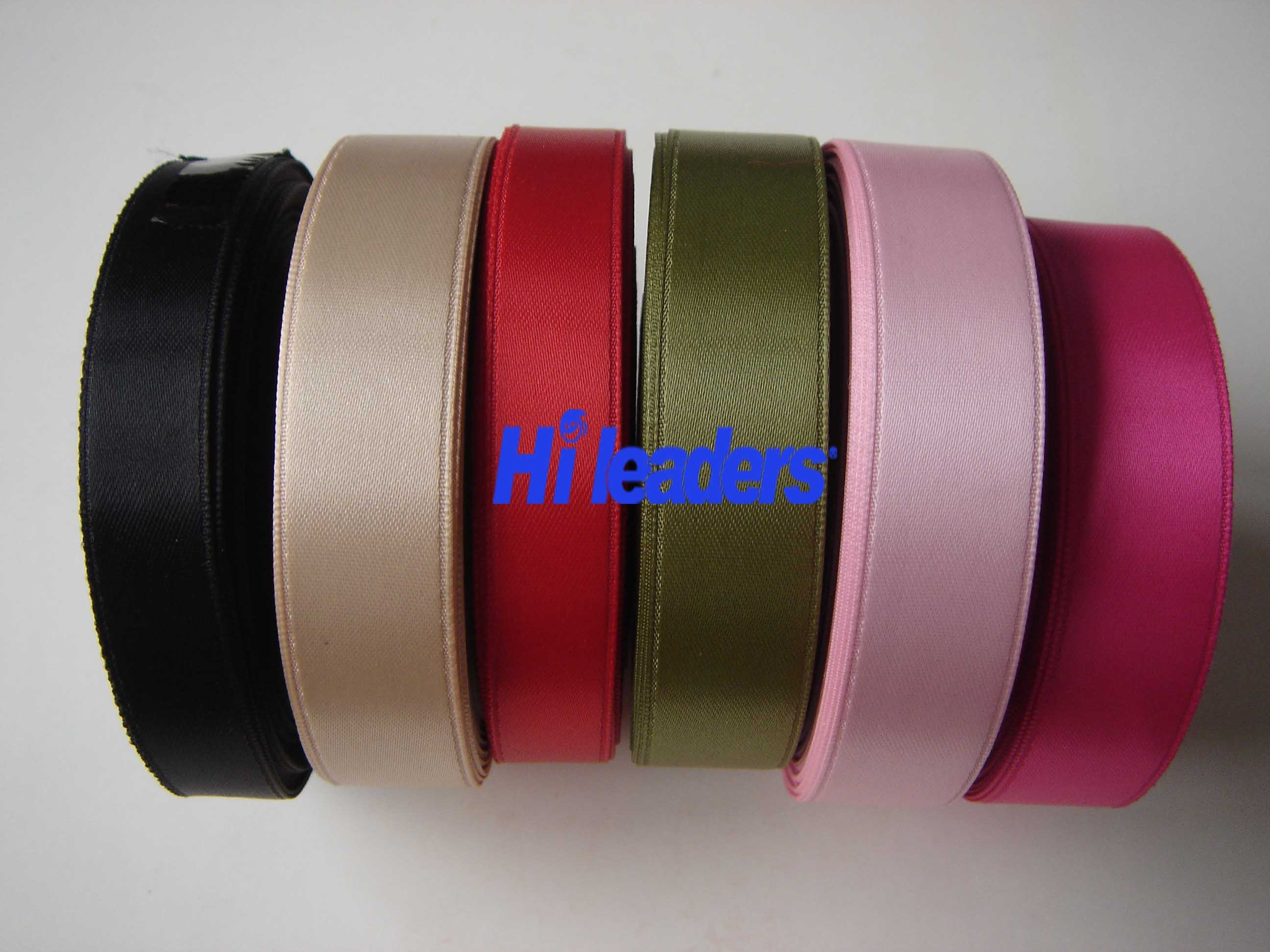 Decorative Polyester Double Face Satin Ribbon