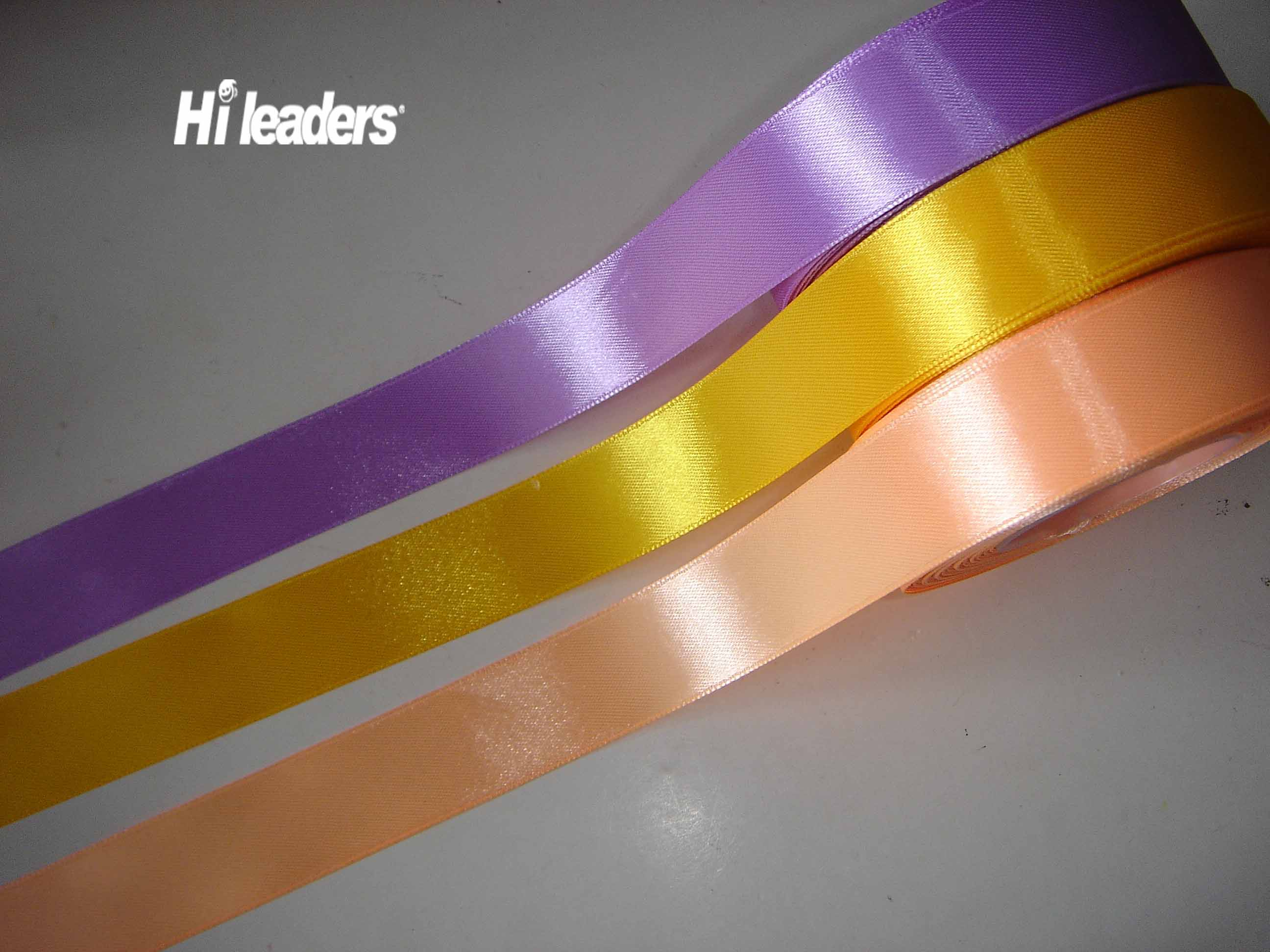 Decorative single face  satin ribbon