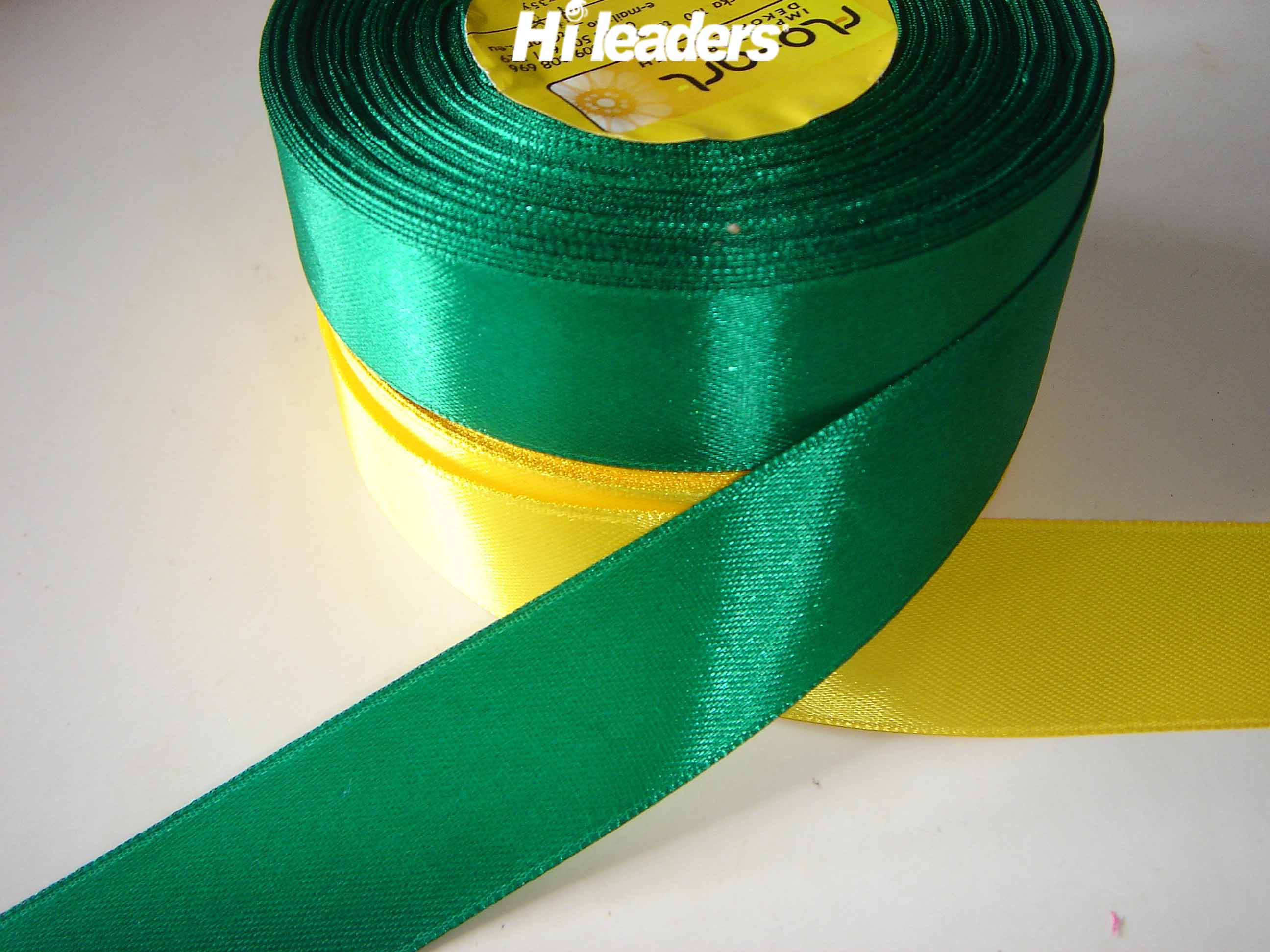 woven edge satin ribbon