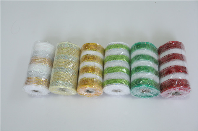 Attractive Packing Mesh Ribbon Roll