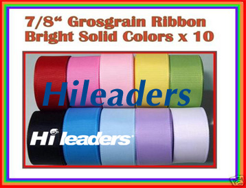 "7-8"" grosgrain ribbon"