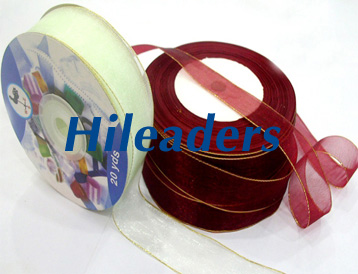 Decorative Sheer organza ribbon