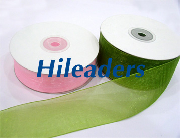 Decorative kit packaging organza ribbon