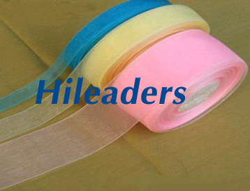 Decorative Foam core packaging organza ribbon