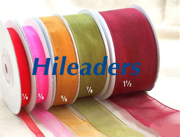 All kinds of Size Organza ribbon