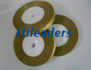 Foam core Packaging Metallic ribbon